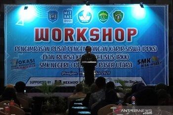 Workshop SMK Negeri 1 Penajam berikan lowongan kerja bagi lulusan SMK