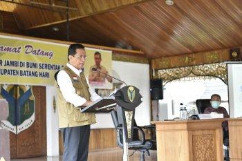 Pjs Gubernur Jambi terus perkuat persiapan pilkada dan penanganan COVID-19
