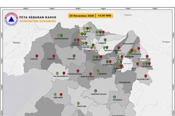 Pasien COVID-19 sembuh di Kabupaten Sukabumi melonjak drastis