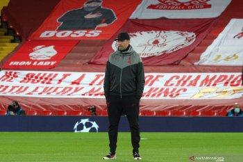 Liga Inggris - Klopp khawatir Liverpool diakhir musim tanpa 11 pemain fit