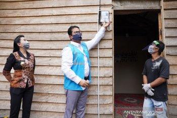 PLN bantu listrik gratis 1.200 rumah warga kurang mampu di Kalbar