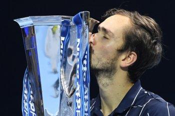 Medvedev juarai ATP Finals setelah taklukkan Thiem