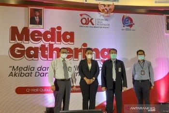 OJK Kalbar nyatakan media miliki peran strategis ikut memulihkan ekonomi
