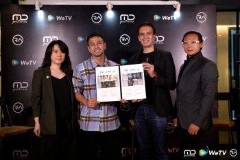 Kolaborasi WeTV Indonesia, MD Pictures dan RA Pictures hadirkan konten lokal berkualitas