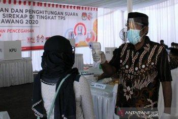 KPU Karawang siapkan bilik khusus bagi pemilih bersuhu tubuh 37,3 derajat celsius ke atas