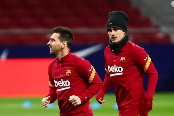 Griezmann buka suara soal hubungan dengan Messi