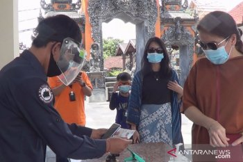 DTW Tanah Lot Tabanan wajibkan masker-cuci tangan (video)