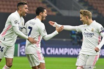 Madrid curi poin setelah menang 2-0 di kandang Inter