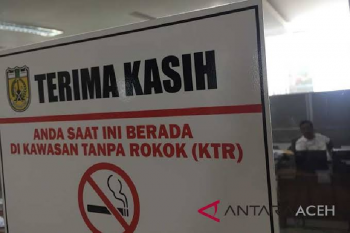Di Aceh, merokok sembarangan bisa di penjara