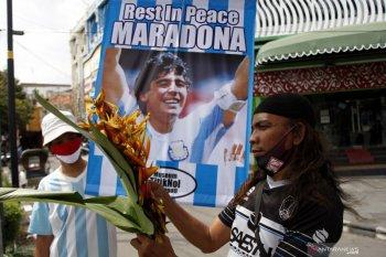 Legenda sepak bola Maradona akan dimakamkan di luar Buenos Aires