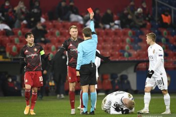 Liga Europa - Diperkuat 10 pemain, Feyenoord amankan satu poin dari CSKA