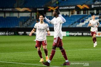 Liga Europa - Nicolas Pepe tam;ping gemilang saat Arsenal lumat Molde 3-0
