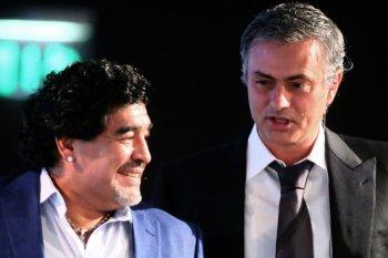 Jose Mourinho ungkap hubungannya dengan Diego Maradona