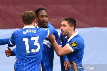 Liga Inggris: Duet Welbeck-Maupay di lini depan Brighton diyakini terus berkembang
