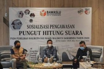 Bawaslu Samarinda ingatkan Pilkada serentak berpotensi pemungutan suara ulang