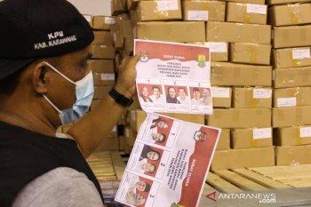 KPU Karawang kekurangan 2.243 surat suara pilkada