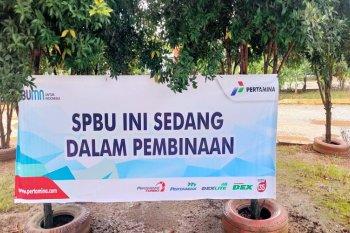 Pertamina berikan sanksi kepada sebuah SPBU di Batanghari