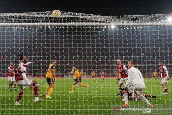 Arsenal terperosok dipecundangi Wolverhampton di Emirates