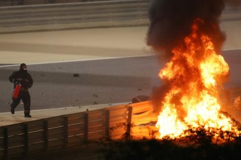 Betapa tipis kesempatan selamatkan Grosjean