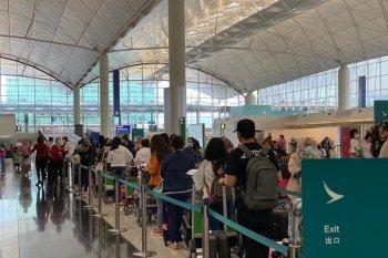 Hong Kong tutup sekolah, PMI diimbau tes usap secara sukarela