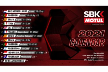 Sirkuit Mandalika tuan rumah seri ke-11 World Superbike 2021