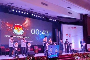 Banjir topik pembahasan hangat debat Pilkada Samarinda