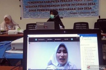 Kemkominfo beri pelatihan pengoperasian laman desa di Kabupaten Penajam