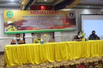 Dishut Kaltim gelar sosialisasi pencegahan Karhutla di Paser