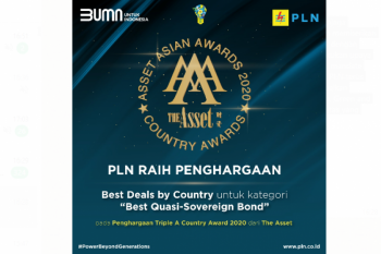 PLN Sabet Penghargaan dari The Asset Asian Awards
