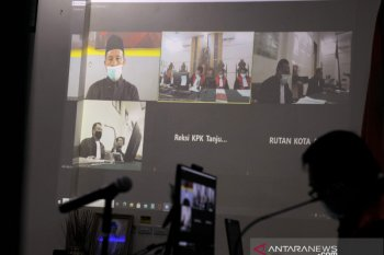 Sidang mantan Bupati Lampung Tengah Mustafa