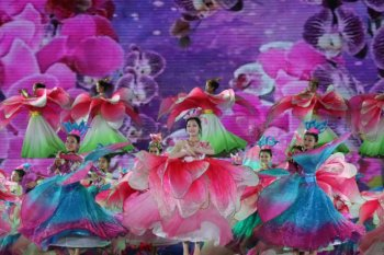 Joyous Changjiang, Hainan Province celebrates the Li and Miao ethnic groups' festival of Sanyuesan (3rd of the 3rd Lunar Month)