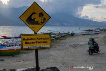 Mitigasi kawasan rawan bencana tsunami