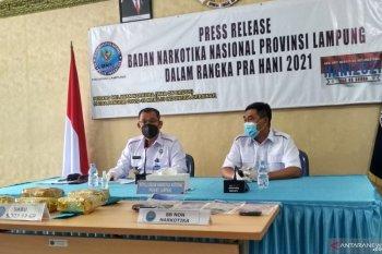 Pengungkapan peredaran lima kilogram sabu-sabu di Lampung
