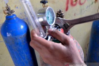 Permintaan isi ulang tabung oksigen meningkat