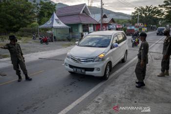 Pembatasan akses jalan darat masuk-keluar Kota Palu