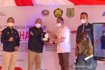 Pertamina resmikan lembaga penyalur BBM di Musi Banyuasin
