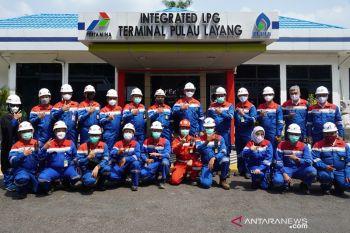 Komisaris Utama Pertamina kunjungi depot LPG Pulau Layang dan IT Palembang