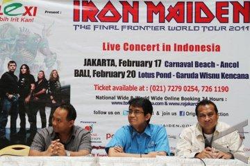 Iron Maiden Tampil Memukau di Ancol