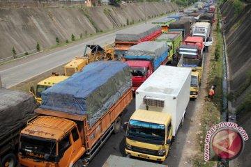 Ribuan Truk Masih Menumpuk di Pelabuhan Bakauheni