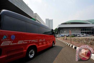 Kemristek-UI-Pemkot Bandung uji coba bus listrik