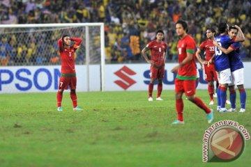 Indonesia kalah dari Malaysia 0-2
