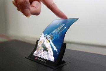 LG produksi layar ponsel fleksibel tahun ini
