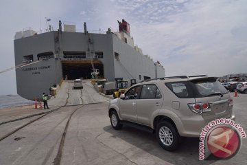 Toyota berkontribusi 70 persen pada ekspor mobil Indonesia