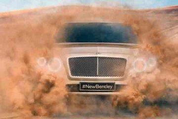 Bentley SUV luncur 2016