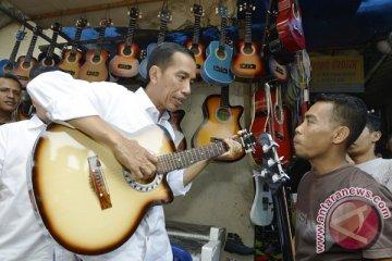 Disambangi Arkarna, Jokowi bahas industri musik Indonesia
