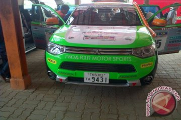 Kemampuan Mitsubishi Outlander PHEV untuk rally