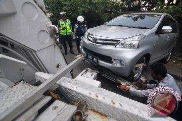 3.729 kendaraan terjaring razia parkir liar di Jakarta