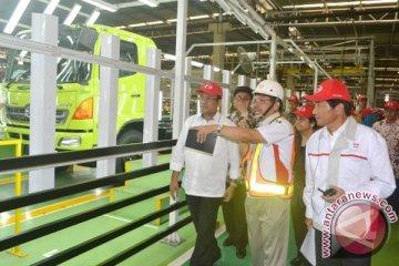 Menperin kunjungi pabrik Hino Motors