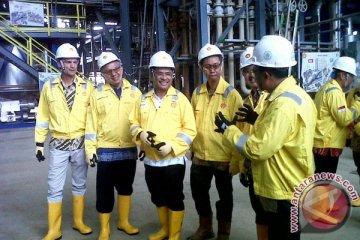 Menperin kunjungi pembangunan pabrik pelumas Shell