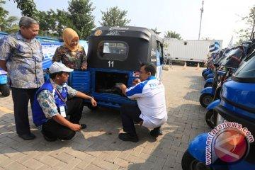 Organda: 30 bajaj Bekasi belum ada STNK-nya